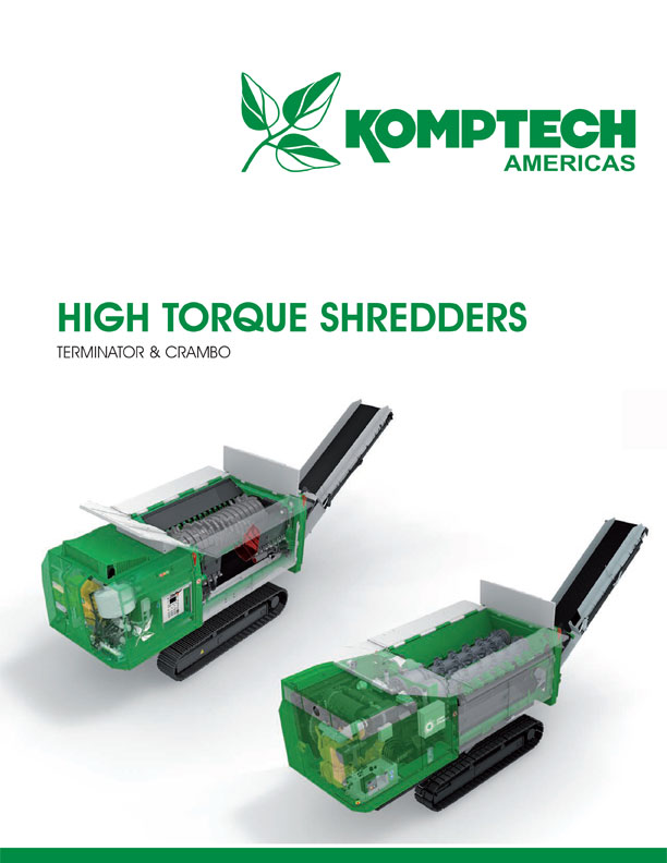 High Torque Shredders Brochure