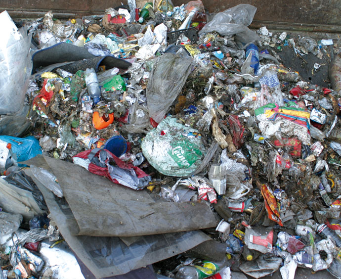 Application - Municipal Solid Waste (MSW) Processing for Recycling
