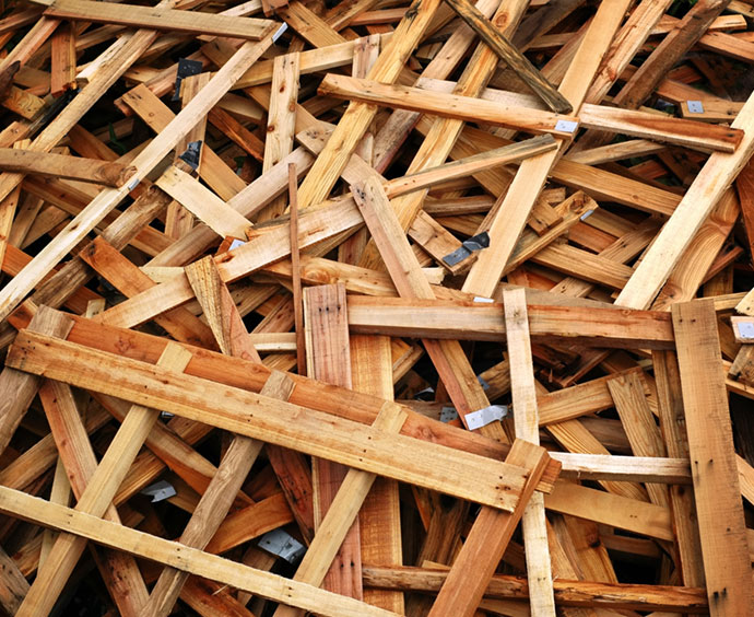 Application - Wood Waste processing