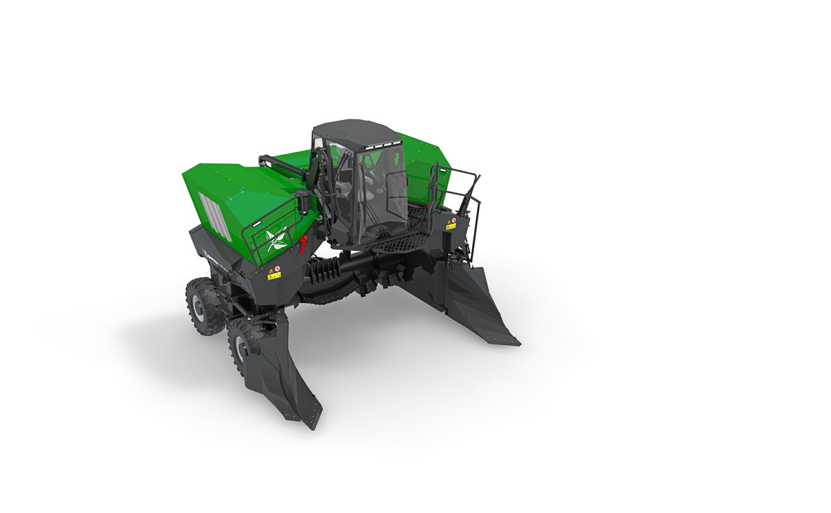 Topturn X4500 Compost Windrow Turner