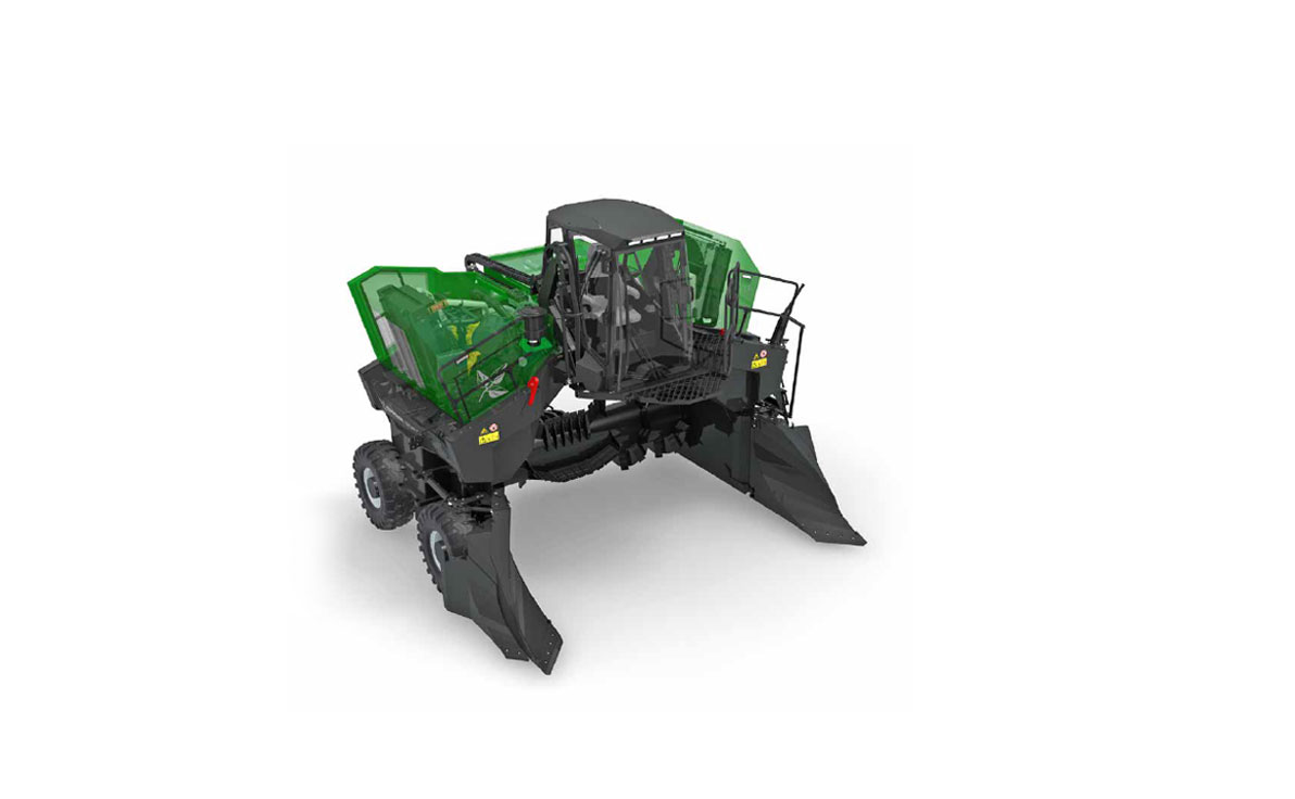 Topturn X5000 Compost Windrow Turner