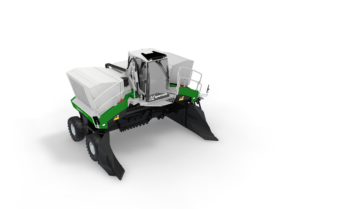Topturn X63 Compost Windrow Turner