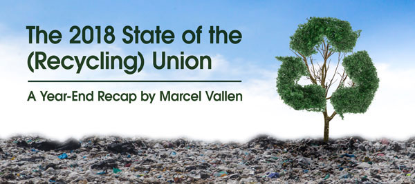 Blog post: State of the Recycling Union - by Marcel Vallen