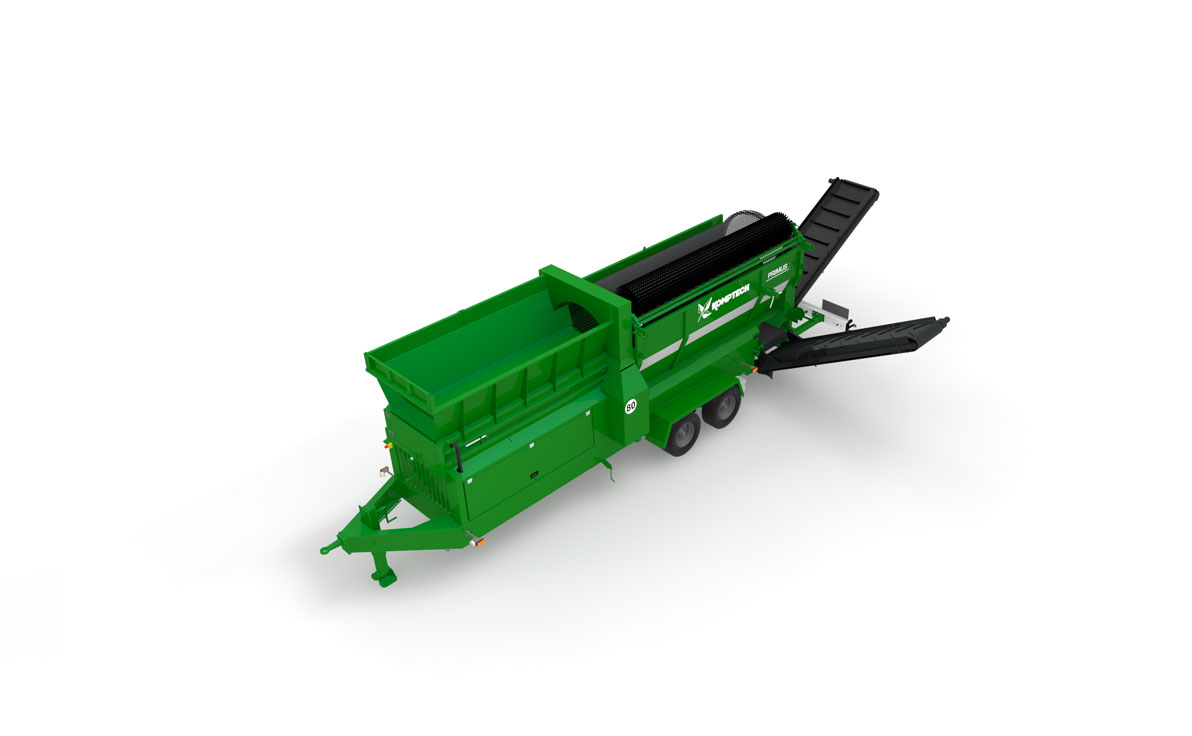 Komptech Primus Tommel Screen for Composting