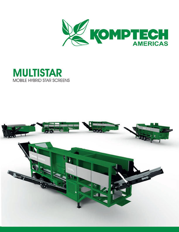 Komptech Multistar Star Screens