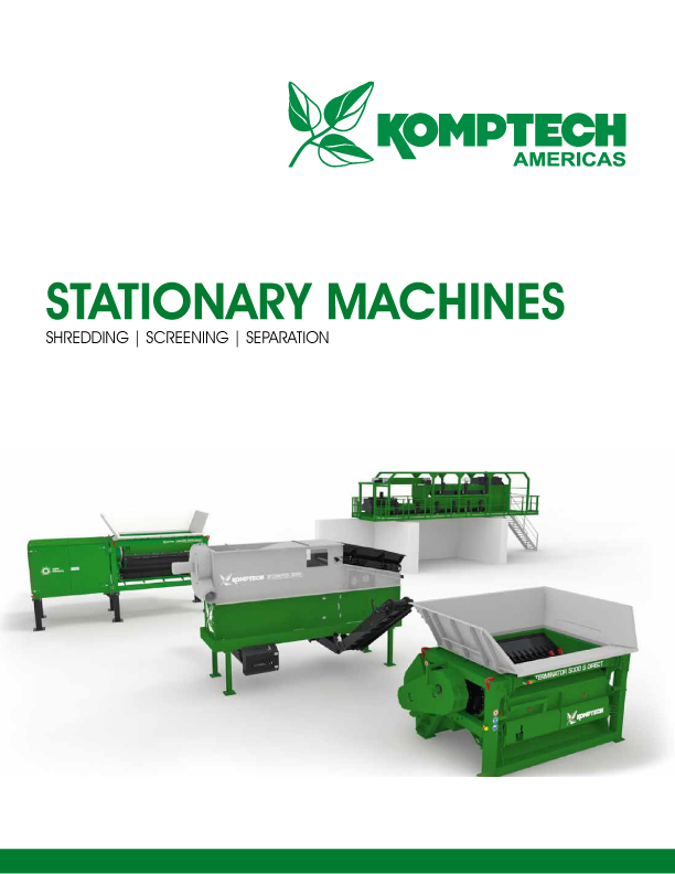 Komptech Stationary Waste Recycling Equipment
