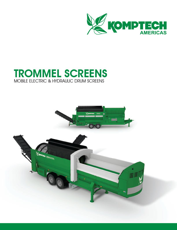 Komptech Trommel Screens