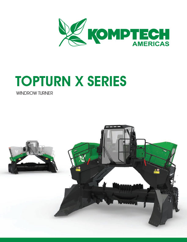 Komptech Windrow Turners