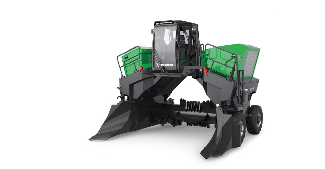 Windrow Compost Turning Equipment