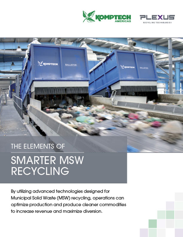 Brochure - The Elements of Smarter MSW Recycling