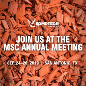 Join Komptech Americas at the 2019 Mulch and Soil Council Annual Meeting