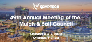 Join us at the 2020 Mulch and Soil Council Annual Meeting