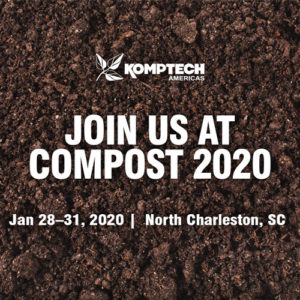 Join us at COMPOST 2020 - Jan 28-31, 2020 | North Charleston, SC