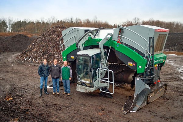 The Topturn has made composting at Hammond Farms much more efficient.