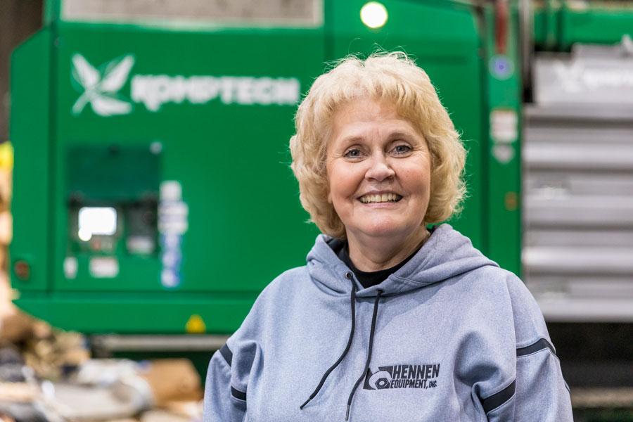 Billeye Rabbe, CEO of Prairieland Solid Waste Facility in Minnesota