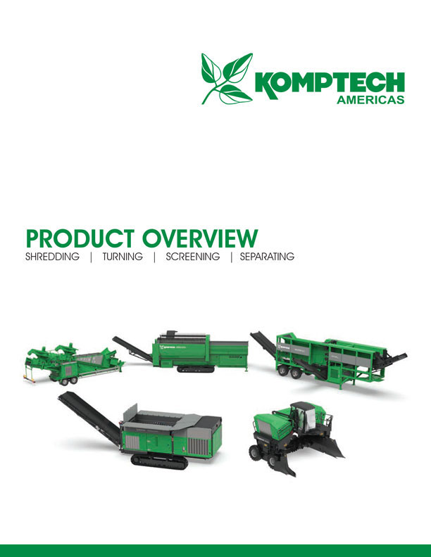 Komptech Americas All Products Brochure