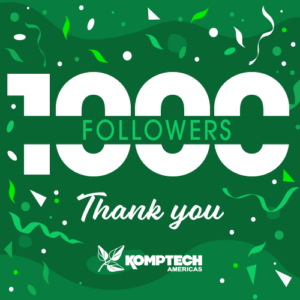 Komptech Americas reaches 1,000 followers on LinkedIn