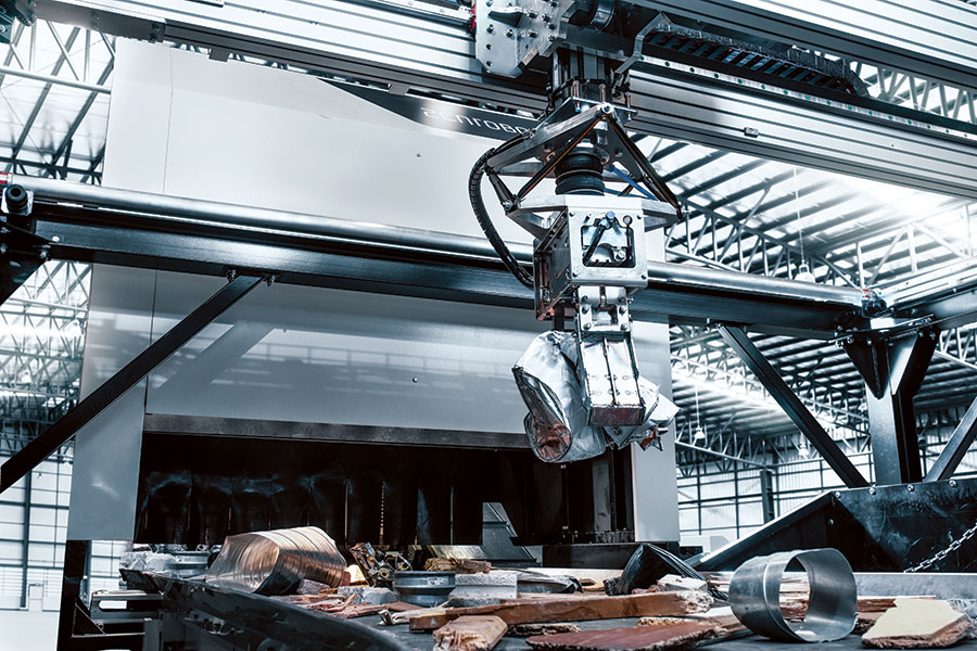 The ZenRobotics Heavy Picker robotic sorting system can operate 24/7 with up to 2,000 picks per hour.